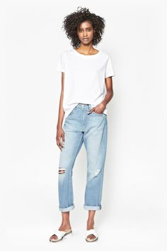 High Rise Boyfriend Jeans | Jeans | French Connection Usa