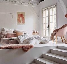 Pink and Grey Bedroom Decor Inspirational Modern Bedroom Pink Grey and White Pink Decor Interior Design Grey Bedroom Decor, Cozy Bedroom, Modern Bedroom, Dream Rooms, Dream Bedroom, Bedroom Minimalist, Ideas Dormitorios, Cool Rooms, New Room
