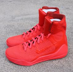 Kobe 9 High All Red