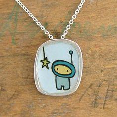 Star Chaser Necklace. $36.00, via Etsy.