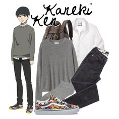 || Kaneki Ken ~ Tokyo Ghoul || by freezespell on Polyvore