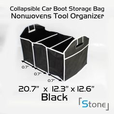 Collapsible-Car-Boot-Trunk-Organiser-Insulated-Cooler-Cool-Storage-Bag-Picnic