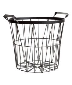 Metalen mand   Product Detail   H&M
