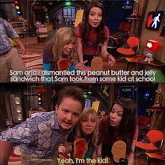 Sam, Carly, Gibby
