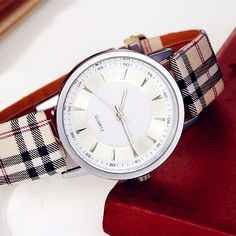 Cheap accessories fashion, Buy Quality jewelry fashion directly from China accessories accessories Suppliers: New Fashion Unisex Women Men Wrist watch PU Leather Watchband Gift Jewelry & Watches Fashion Accessories Casual Watches, Watches For Men, Cheap Watches, Wrist Watches, Plaid And Leather, Pu Leather, Women's Dress Watches, Watch Sale, Fashion Watches