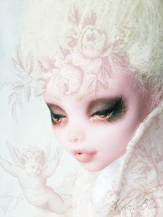 NylonBleu Doll Pictures: Bonbon de Boudoir - Monster High OOAK Repaint