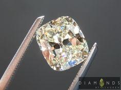 1.54ct L VVS1 Cushion Cut Diamond GIA $6,395 #yellowdiamond #cushion #coloreddiamond #beautifulyellowdiamond #bridalring #engagementring #propose #gorgeous #customjewelry #loveit #amazing #awesome #gift