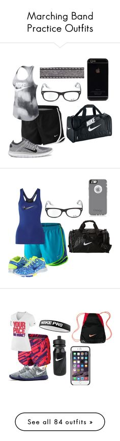 """Marching Band Practice Outfits"" by mbvs on Polyvore"