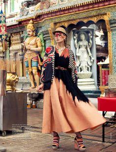Wearing the World ELLE INDIA on Behance