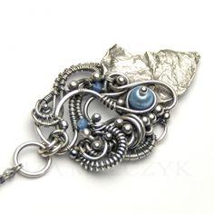 More gorgeous work from Iza. Iza Malczyk Gallery of artisan silver jewellery.