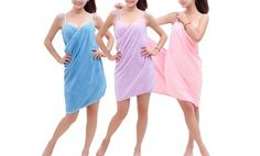 Groupon - Quick-Dry Bath-Towel Wrap in [missing {{location}} value]. Groupon deal price: $13.99