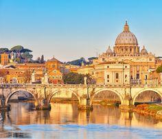Rome in Golden light