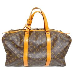 Auth Louis Vuitton Monogram Sac SOUPLE M41624 Boston Travel Bag Dead Stock Brown | eBay