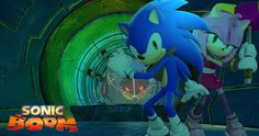 Sonic Boom Sonic and Amy Wallpaper by Silverdahedgehog06 on DeviantArt