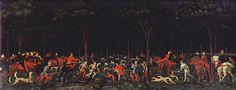 La caza en el bosque, 1460 - Paolo Uccello
