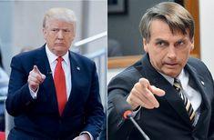 Presidente eleito dos EUA, Trump deverá apoiar Bolsonaro e pode até vir ao Brasil em 2018