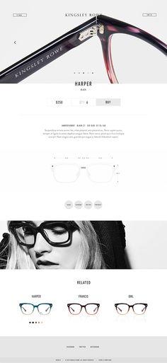 58fa41150c11 Kingsley Rowe on Behance Ecommerce Web Design, Ui Ux Design, Layout Design,  Website