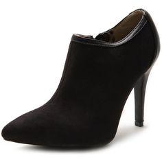 Ollio Women's High Heel Ankle Shoe Zip Faux Suede Multi Colored Boots(7.5 B(M) US,Black) Ollio,http://www.amazon.com/dp/B00HNWV61K/ref=cm_sw_r_pi_dp_4OyBtb13N8ZT6FMY
