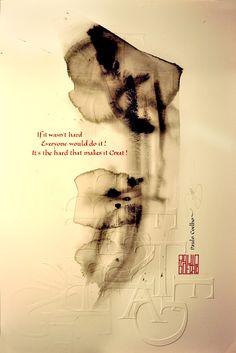 Calligraphy by Loredana Zega : Art Calligraphy