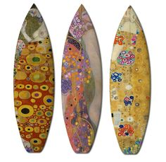 Boom-art has joined forces with the European surf company UWL to create 504, a series of surfboards and skate decks featuring the work of renowned artists Jan Davidsz. de Heem (1606 - 1684) and Gustav Klimt (1862 - 1918). @My Modern Me