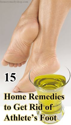 15 Home #Remedies to Get Rid of Athlete's Foot