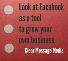 Facebook and How It's Changed from Lift the Fog blog, Clear Message Media.