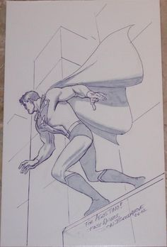 Superman by Jon Bogdanove Comic Art