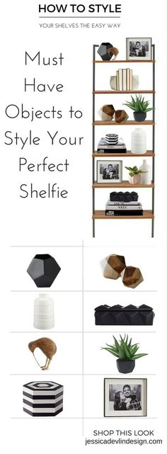 Check this site out for amazing bookshelf styling ideas. This post is great for ., Check this site out for amazing bookshelf styling ideas. This post is great for . Studio Mcgee, Living Room Decor On A Budget, Living Room Designs, Shelf Ideas For Living Room, Handmade Home Decor, Diy Home Decor, Decor Crafts, Styling Bookshelves, Bookshelf Ideas