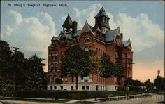 St.Mary's hospital Saginaw Michigan I work here but it looks totally different now.