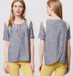 кружевные блузы