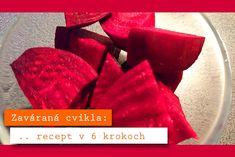 Zaváraná cvikla – foto postup v 6 krokoch | FoodFest.sk Strawberry, Fruit, Tableware, Food, Dinnerware, Tablewares, Essen, Strawberry Fruit, Meals