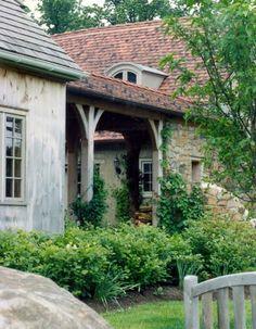 New stone home in Pennsylvania. John Milner Architects.