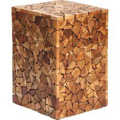 LANDSCAPE BEISTELLTISCH Recyclingholz Teakholz Mehrfarbig Braun Jetzt Bestellen Unter Moebelladendirektde Wohnzimmer Tische Beistelltische Uid