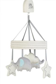 Buy little star musical mobile from the Next UK online shop Star Nursery, Girl Nursery, Nursery Decor, Nursery Ideas, Pleated Curtains, Curtains With Blinds, Grey Yellow Nursery, Storage Tubs, Soothing Baby