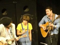 """so much love in one place """"Train In The Sky"""" Edward Sharpe, Mumford & Sons, Old Crow Medicine Show SXSW 2012"""