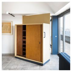 Le Corbusier - Le Corbusier Paris apartment photographed by Jérôme Galland