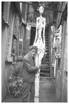 "Alberto Giacometti ~ Surrealist/Existentialist/Figure sculptor - Visit our internet site for even more relevant information on ""abstract artists famous"". Alberto Giacometti, Giovanni Giacometti, Antoine Bourdelle, Picasso Paintings, Henri Matisse, Famous Artists, Oeuvre D'art, Art Studios, Artist At Work"