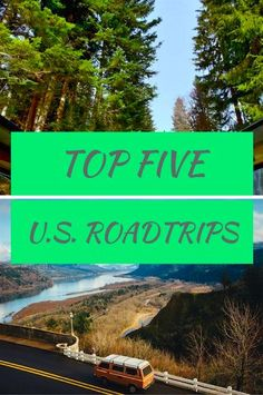 5 U.S. Road Trips That Are Highly Recommended!