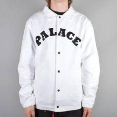 Palace Skateboards Cotch Bulldog Jacket - White - Palace Skateboards from Native Skate Store UK