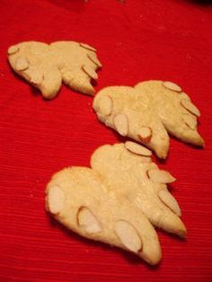Catholic Cuisine: Michaelmas Angel wing cookies