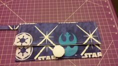 Pattern designed by designed by AiviloCharlotte Designs. Glow in the Dark Lightsabers Wristlet Wristlets, The Darkest, Pattern Design, Coin Purse, Glow, Purses, Cards, Handmade, Arm Candies