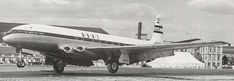 The Comet prototype in BOAC livery.