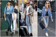 Crumbs and Curls: Street Style: Gigi Hadid