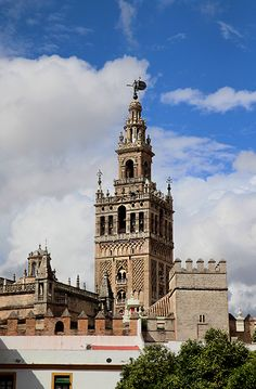 Seville Spain Seville Spain, Spain Travel, Towers, Monuments, My Dream, Globe, Castle, Island, City
