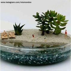 Mahmut Kırnık.3476 Diy Epoxy, Cacti, Terrarium, Aquarium, Plants, Succulent Terrarium, Cactus Plants, Terrariums, Goldfish Bowl