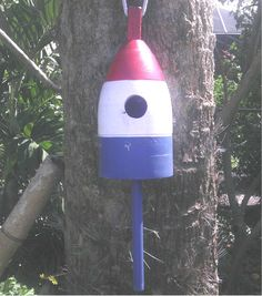 Birdhouse Buoy