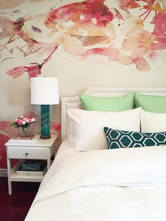 Pretty Guest Suite, designed by Amanda Forrest