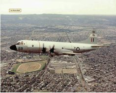 RNZAF P3C Orion aircraft