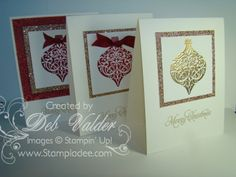 Ornament Keepsakes with Deb Valder by djlab - Cards and Paper Crafts at Splitcoaststampers