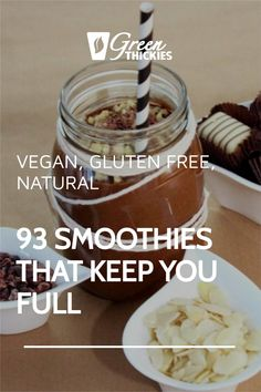 These smoothies will replace a meal and keep you full until your next meal. They are based on easy to find, healthy ingredients and will help you lose weight. Protein Fruit Smoothie, Raw Vegan Smoothie, Smoothie Diet Plans, Smoothie Prep, Fruit Smoothie Recipes, Smoothie Ingredients, Smoothie Detox, Make Ahead Smoothies, Yummy Smoothies